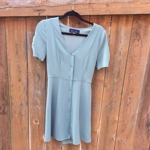 NWOT Button down tailored dress